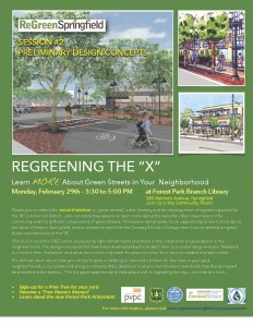 X Green Streets Flyer (SESSION 2)